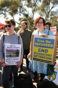 Demonstration in Melbourne