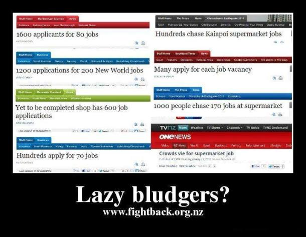 lazy bludgers meme