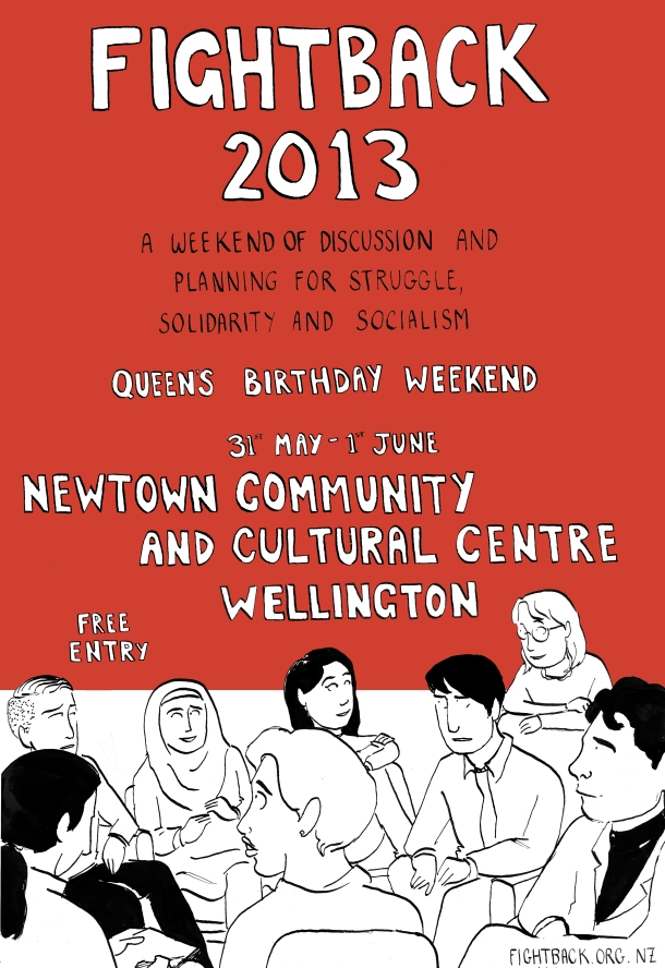 fightback 2013 poster red