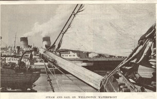 wellington waterfront 1939