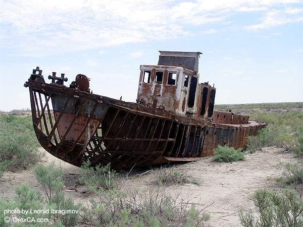 degradation of the Aral Sea