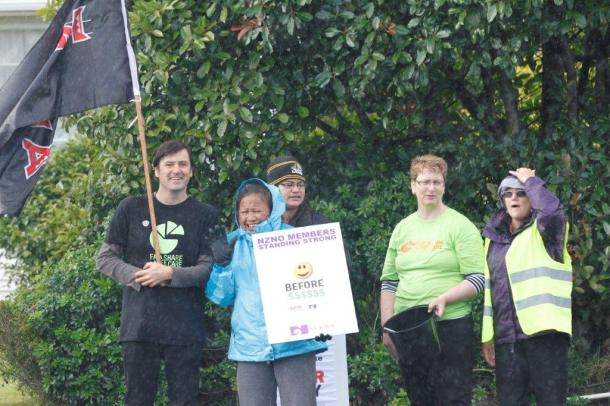 Upper Hutt aged care picket2 1.3.12