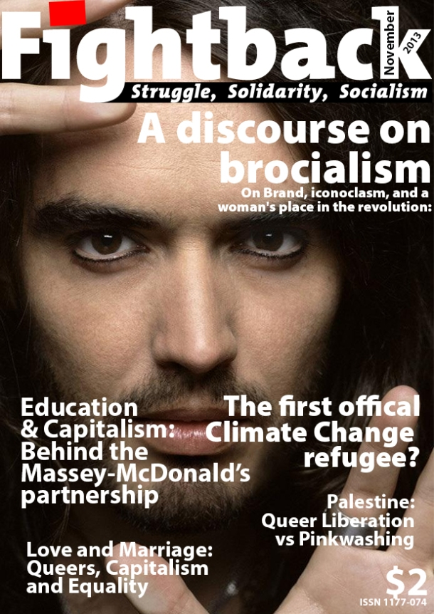 2013 November Fightback Cover (Russell Brand)