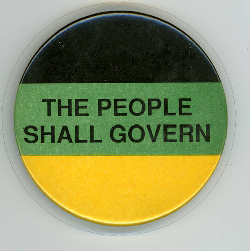 the people shall govern badge