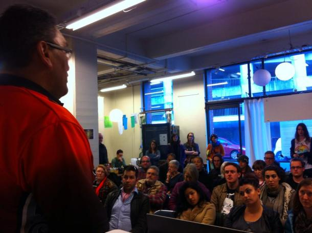 MANA Movement leader Hone Harawira addresses Fightback's 2014 educational conference, Capitalism: Not Our Future.
