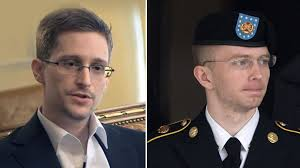 Chelsea Manning and Edward Snowden: whistleblowers persecuted for exposing imperialist abuses