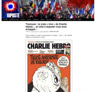 Charlie Hebdo cover mocking National Front leaders Jean-Marie and Marine Le Pen