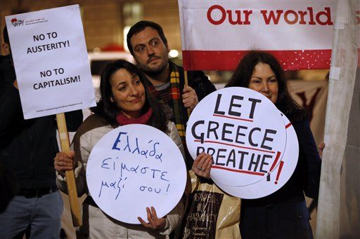 let greece breathe london