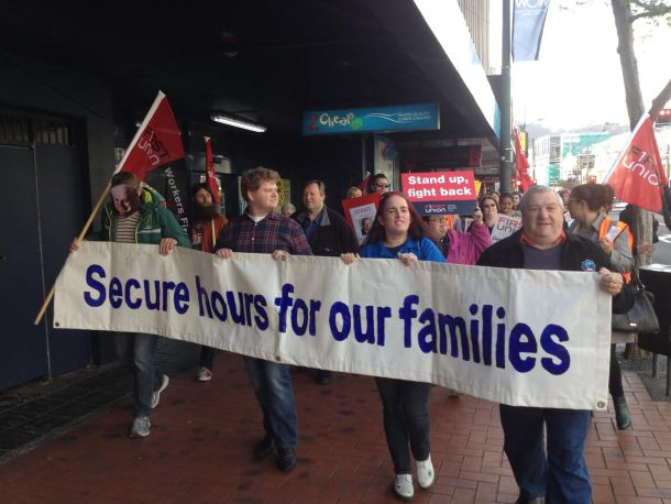 ANZ strike, October 2014