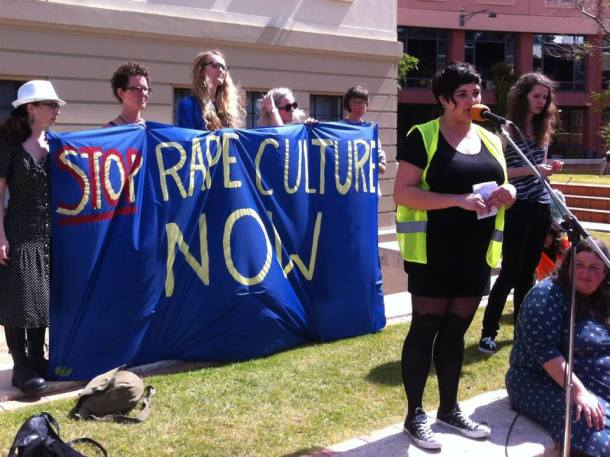 stop rape culture now banner civic square