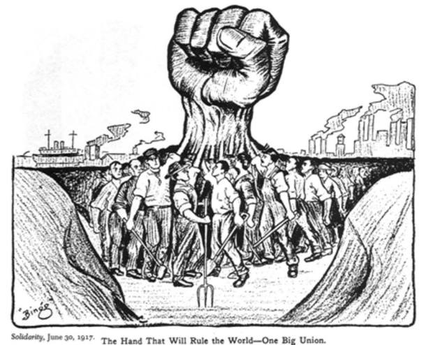 revolutionary fist