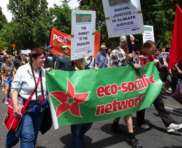 ecosocialist network march