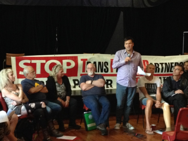Newtown public meeting on the TPPA