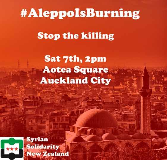 Aleppo is Burning New Zealand