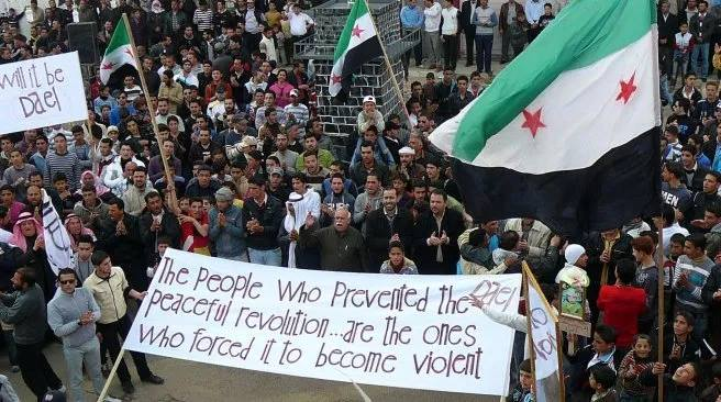 syria peaceful revolution